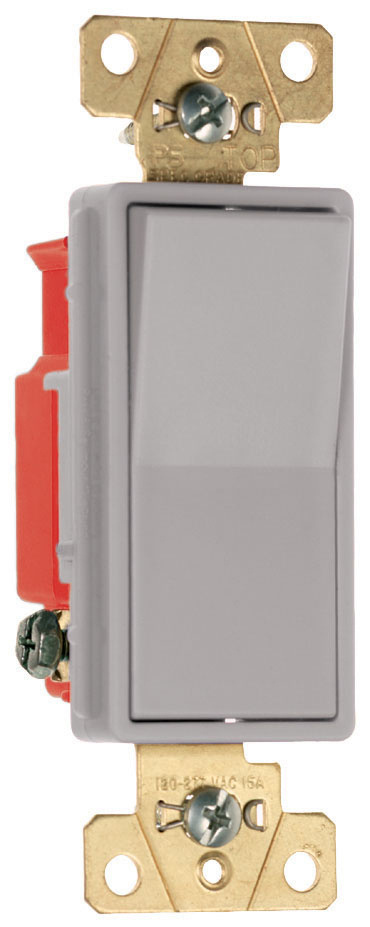 Specification Grade Decorator Switch, 2621GRY