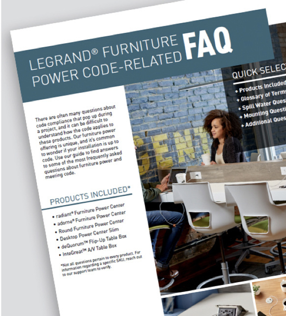 Page of furniture power code resource