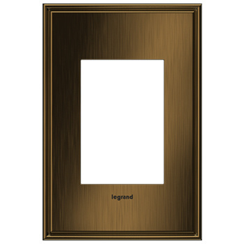 adorne 1-Gang+ Coffee Wall Plate
