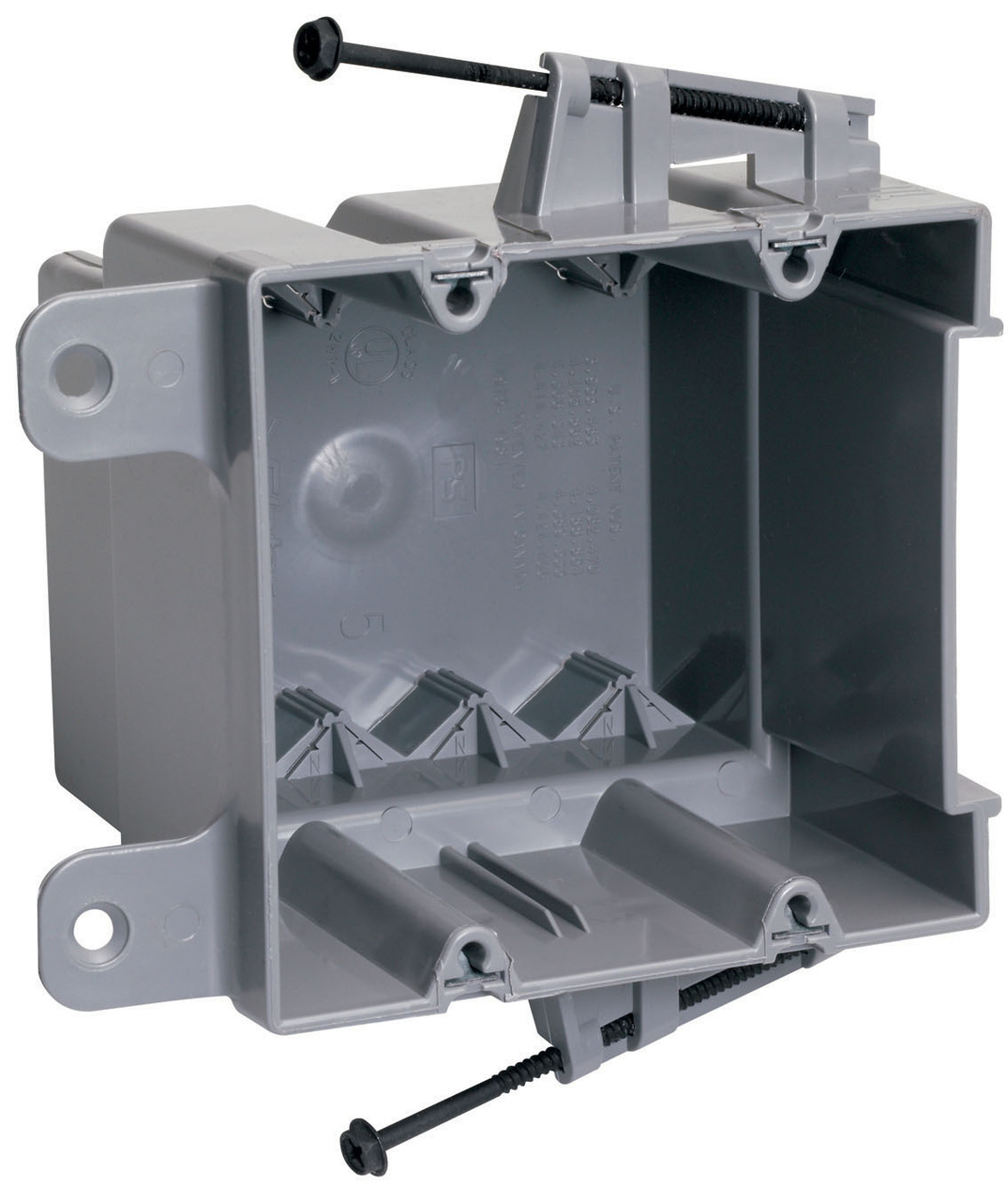Screw Mount Steel Stud Box with Quick/Click, S235RACS