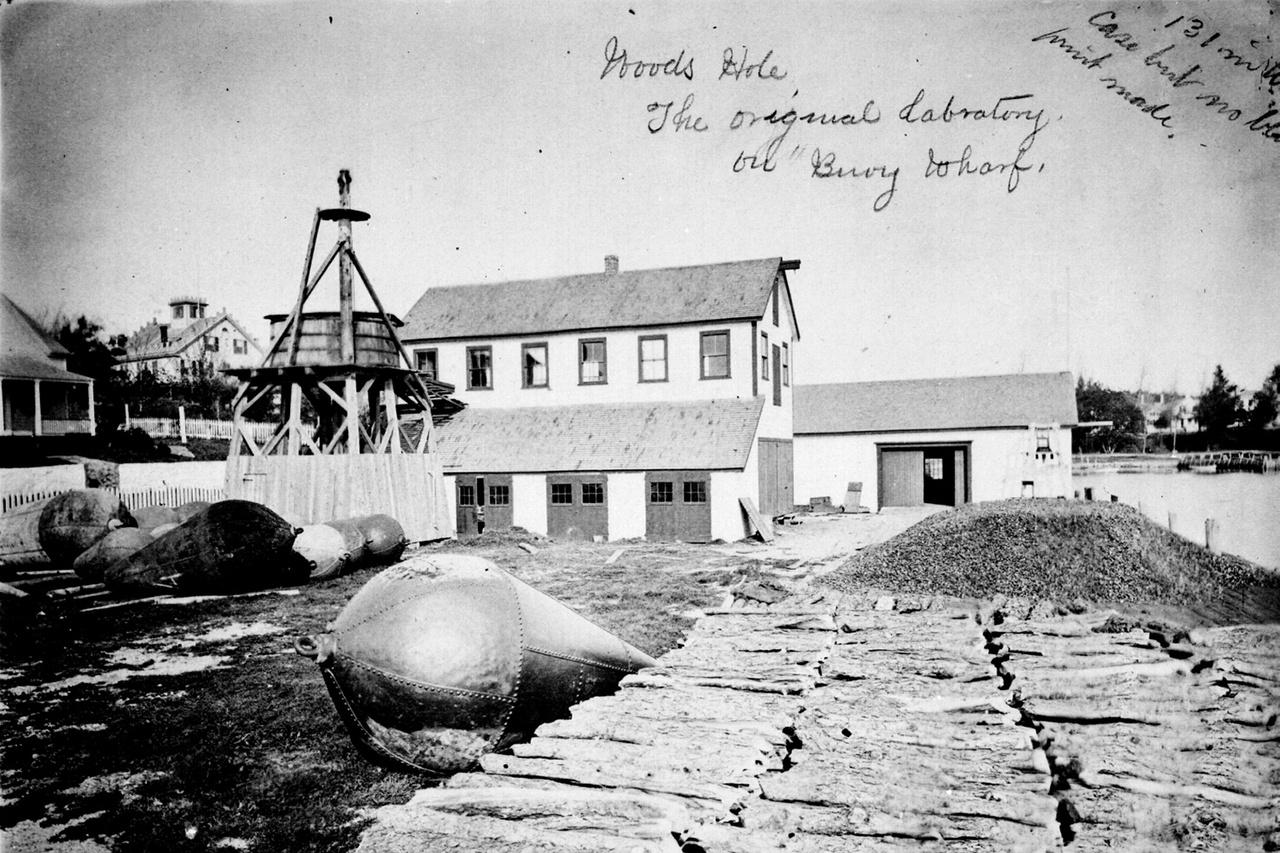 First marine lab 1875
