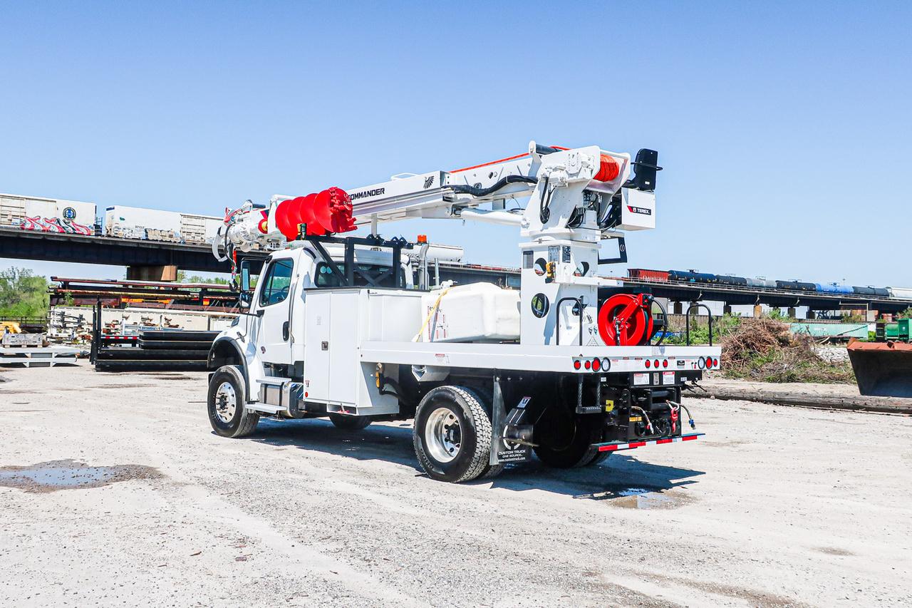 Terex Commander 5055 Digger Derrick on 2020 Freightliner M2106 4x4