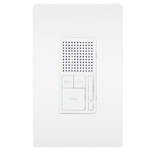 Broadcast Intercom Room Station, White