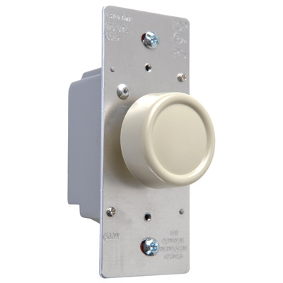 Rotary R Series 600W Incandescent RFI Dimmers Ivory