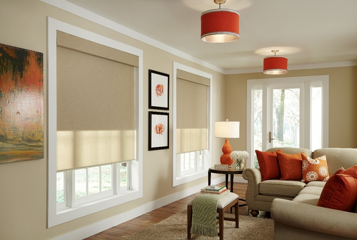qmotion shades in residential home