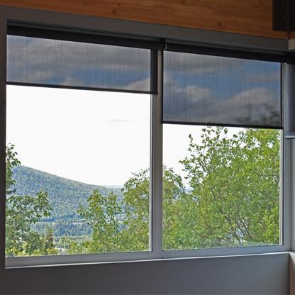 residential shading on windows in alaskan home