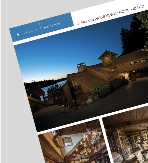 Vantage residential case study: John and Paige Elway - Idaho