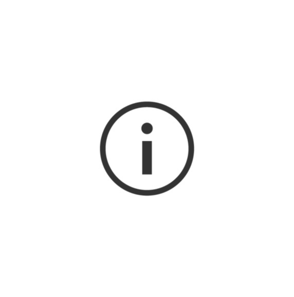 information button icon