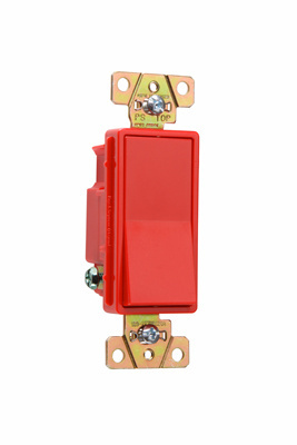 Specification Grade Decorator Switch, 2621RED