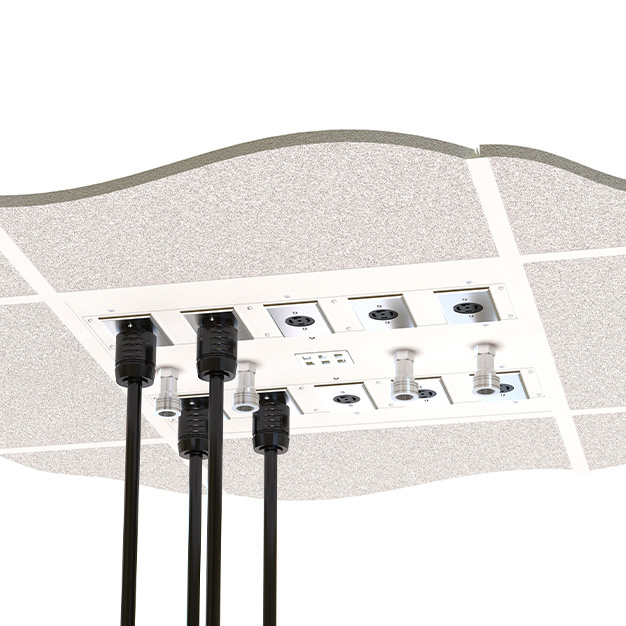 Medical ceiling box