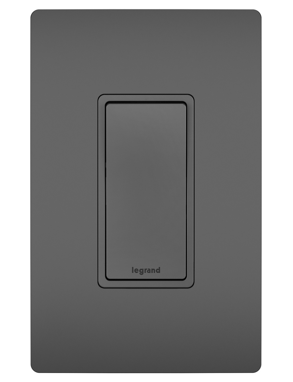 15A Self-Grounding 4-Way Switch, Black