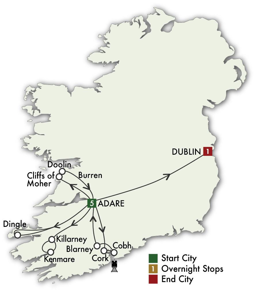 2022 Ireland South Daytripper - 7 Days/6 Nights