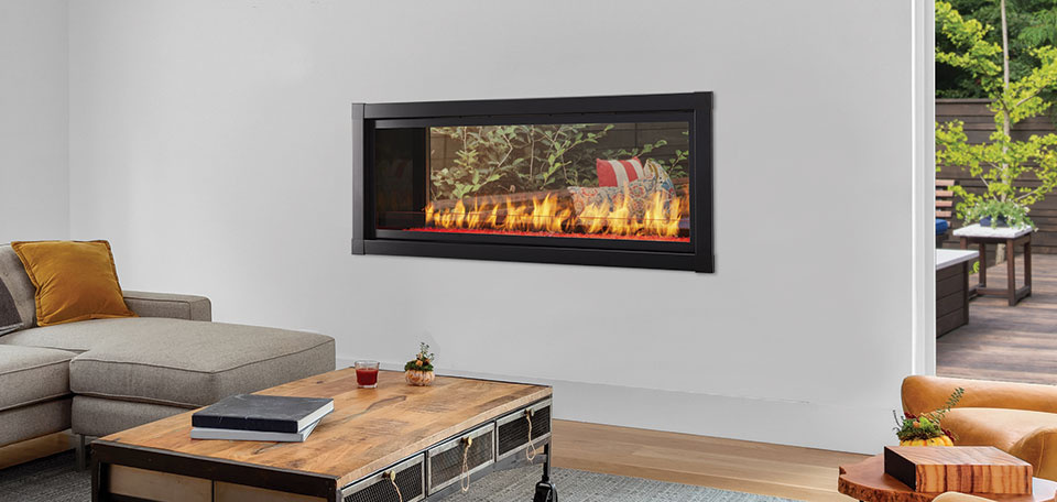 Monessen Hearth Artisan See-Through Vent Free Gas Fireplace