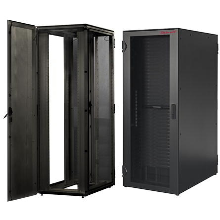 Image for VARISTAR-Server-RAL 7021, 1600 kg, side-by-side cabinet, single cabinet from Schroff - Asia Pacific