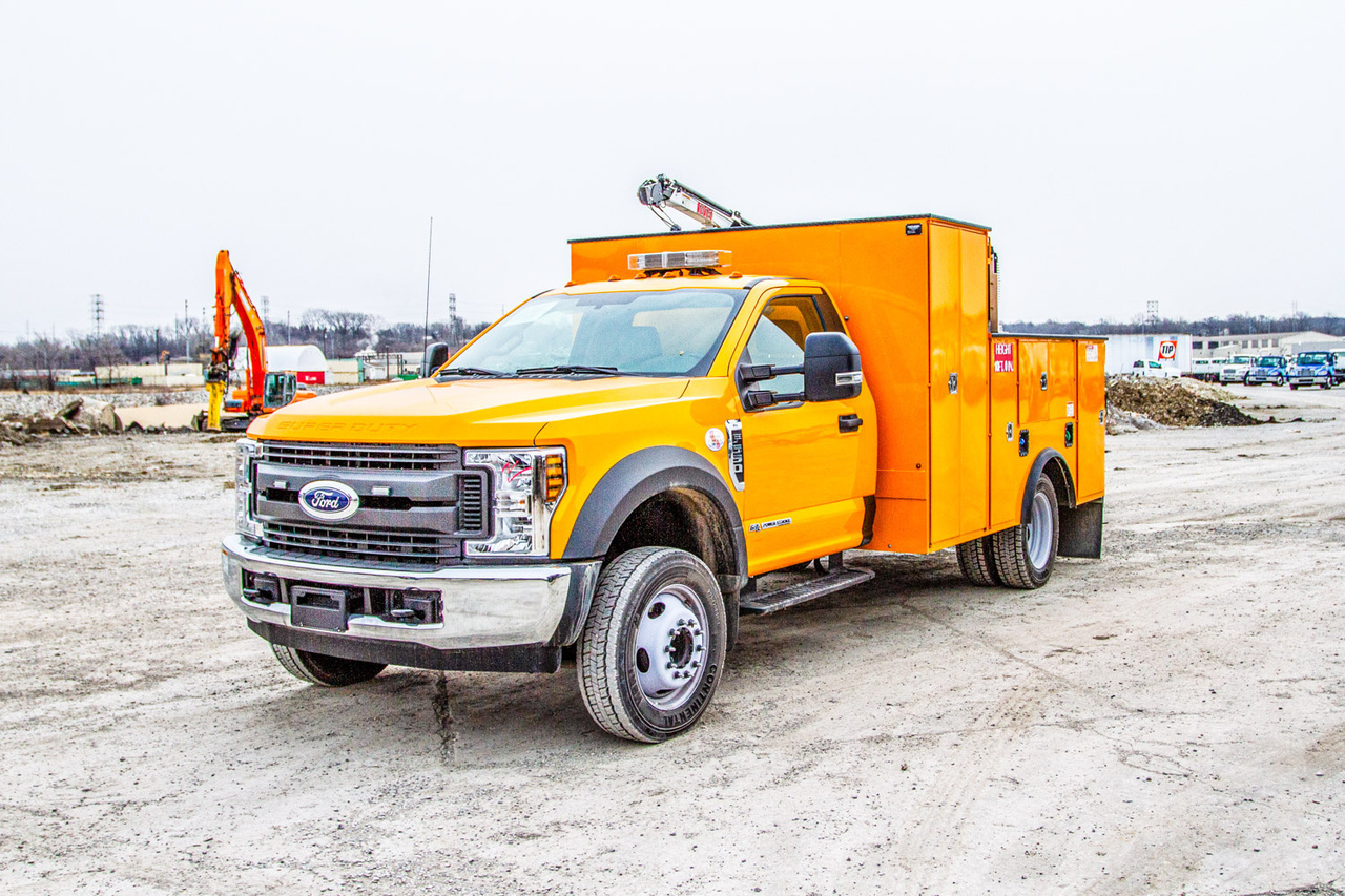 IMT 1015 ServiceTruck+Crane on 2018 Ford F550 4x2