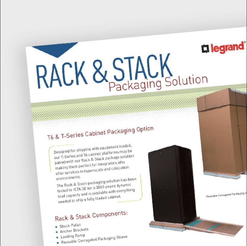 Rack & Stack Data Sheet