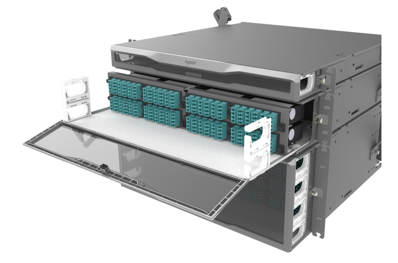 Legrand's Infinium HD Fiber System product for infrastructure planning