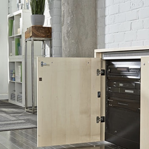 Technical furniture from Legrand AVD