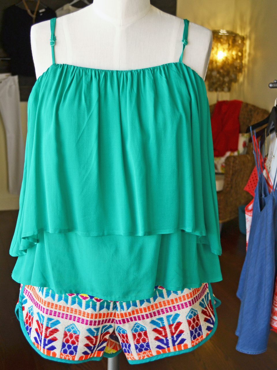 Keep cool at Forecastle with this tank and shorts