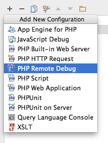 Remote debug configuration