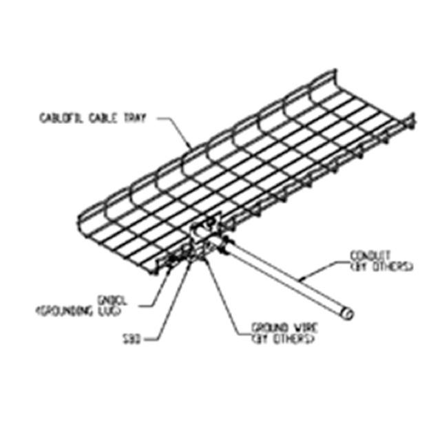 3D model of cablofil cable tray