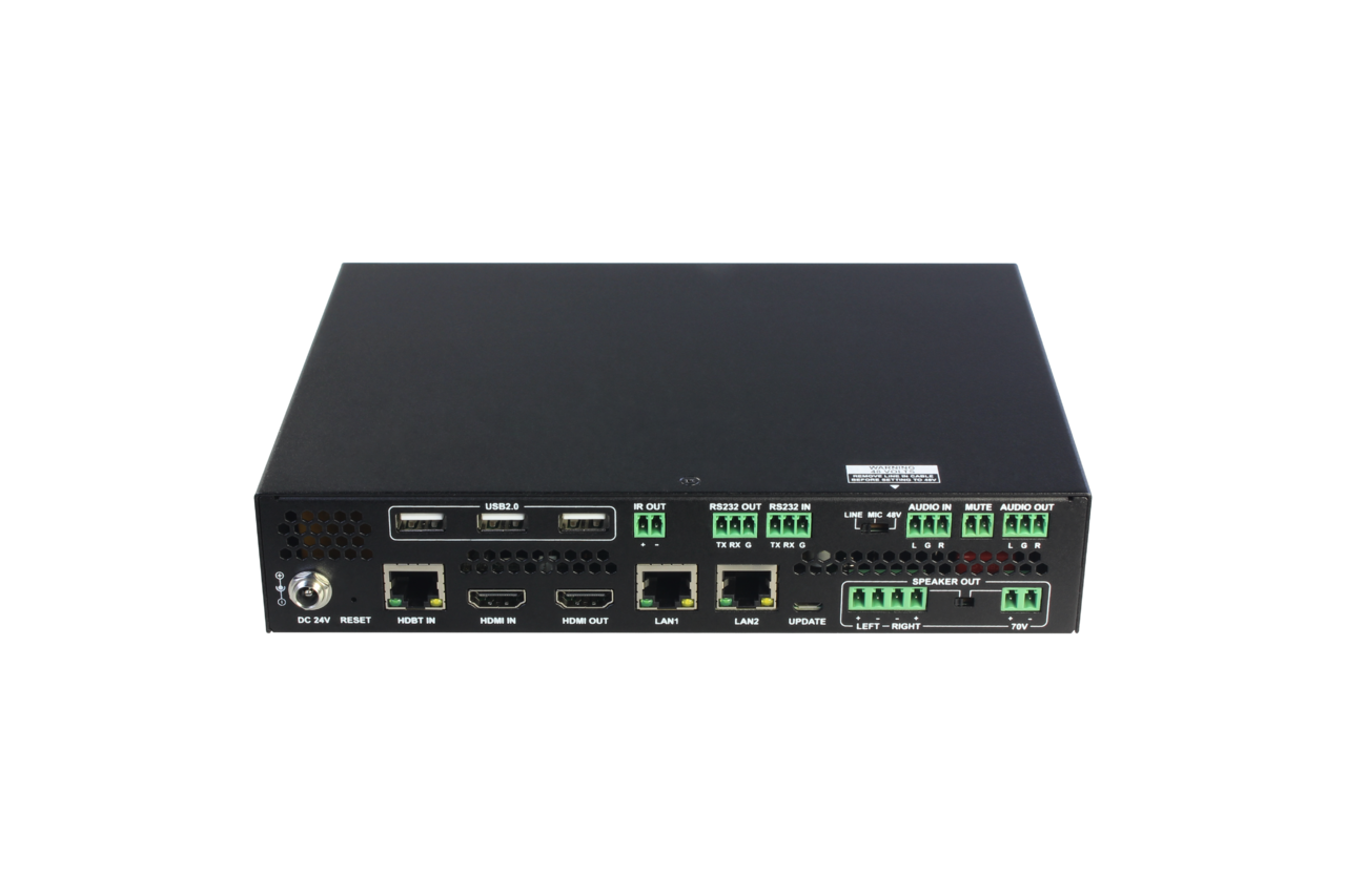 DL-ARK-3H1VC - Advanced Room Kit for Classroom/ Training Room / Conference Room with 4x1 Switching, HDMI, VGA,  & USB Extension, Audio Amp, Display Control, and Centralized Monitoring / Control Software