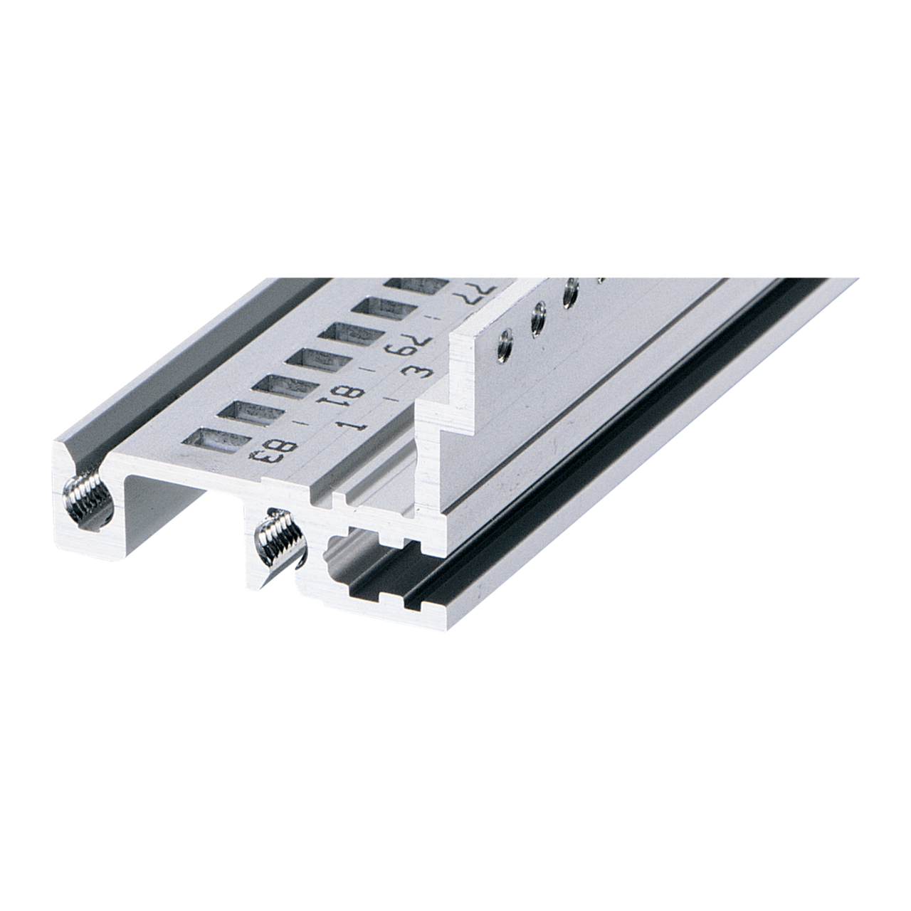 Image for Horizontal rail, rear, type H-MZ, robust, with z-rail from Schroff - Asia Pacific