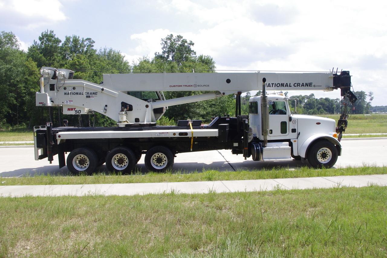 2014 Peterbilt 367 8x6 National NBT50102 Boom Truck