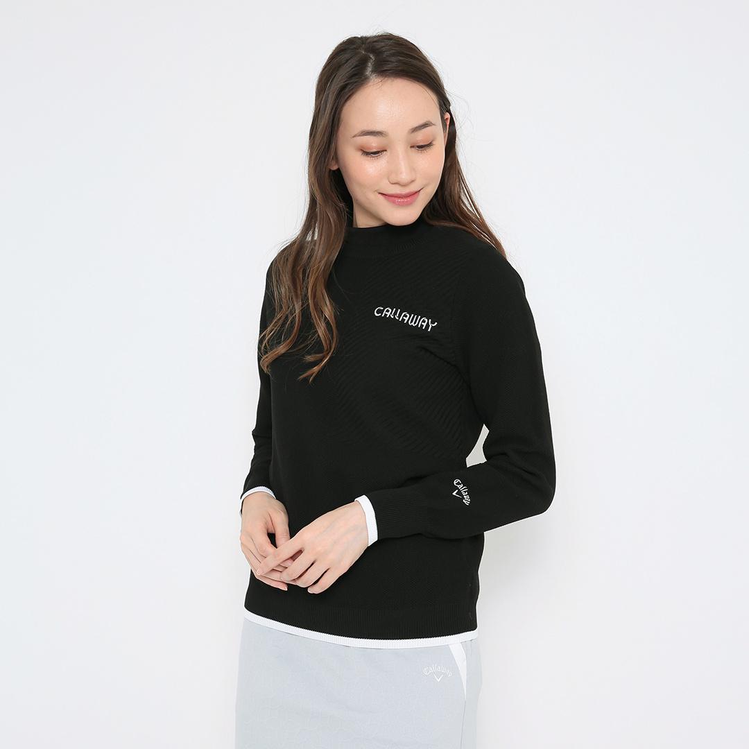 CALLAWAY メッシュ編み撥水ニット (WOMENS)