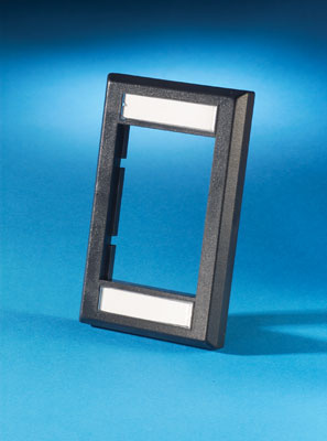 "Series II Faceplate, low profile (single gang), .5"" deep, OR-40300158-00"