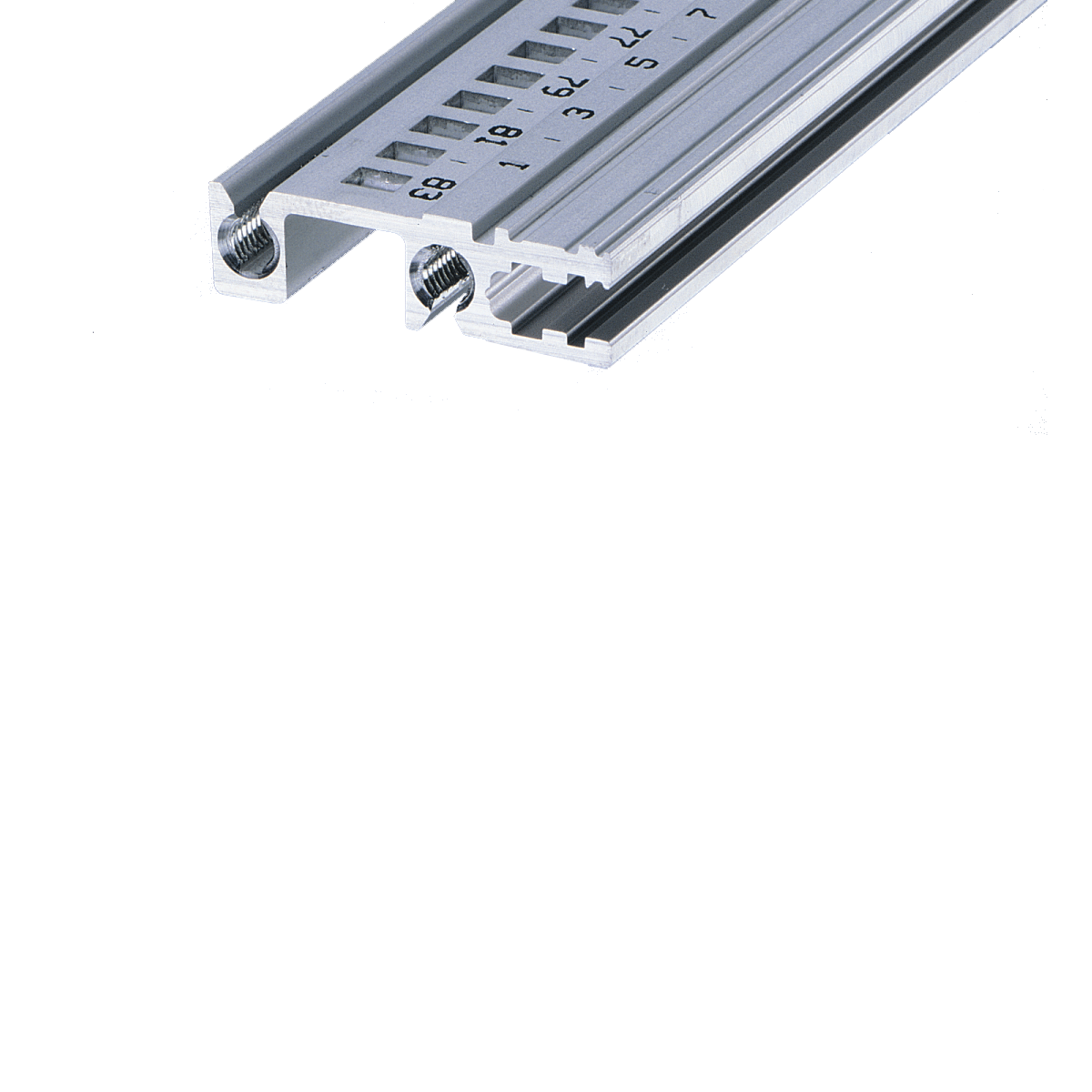 Image for Horizontal rail, rear, type H-VT, robust, recessed installation from Schroff | Europe, Middle East, Africa and India