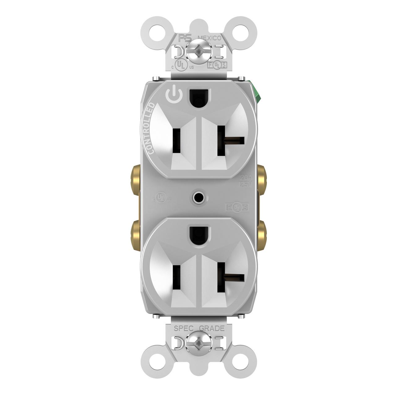 20A, 125V Half-Controlled Plug Load Controllable ...