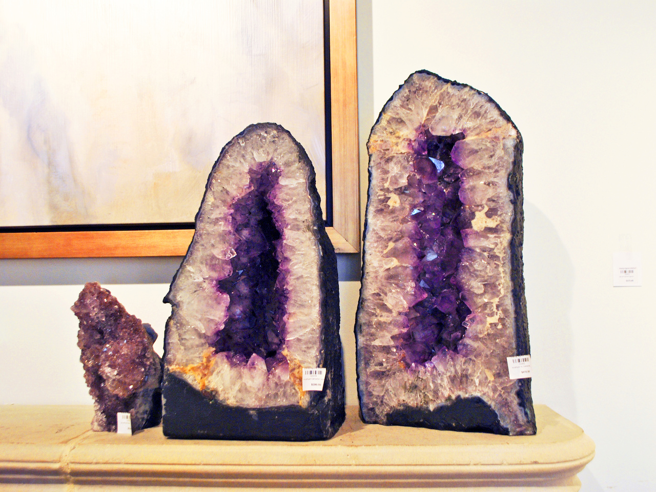 These geodes are natural works of art and gorgeous home accents.