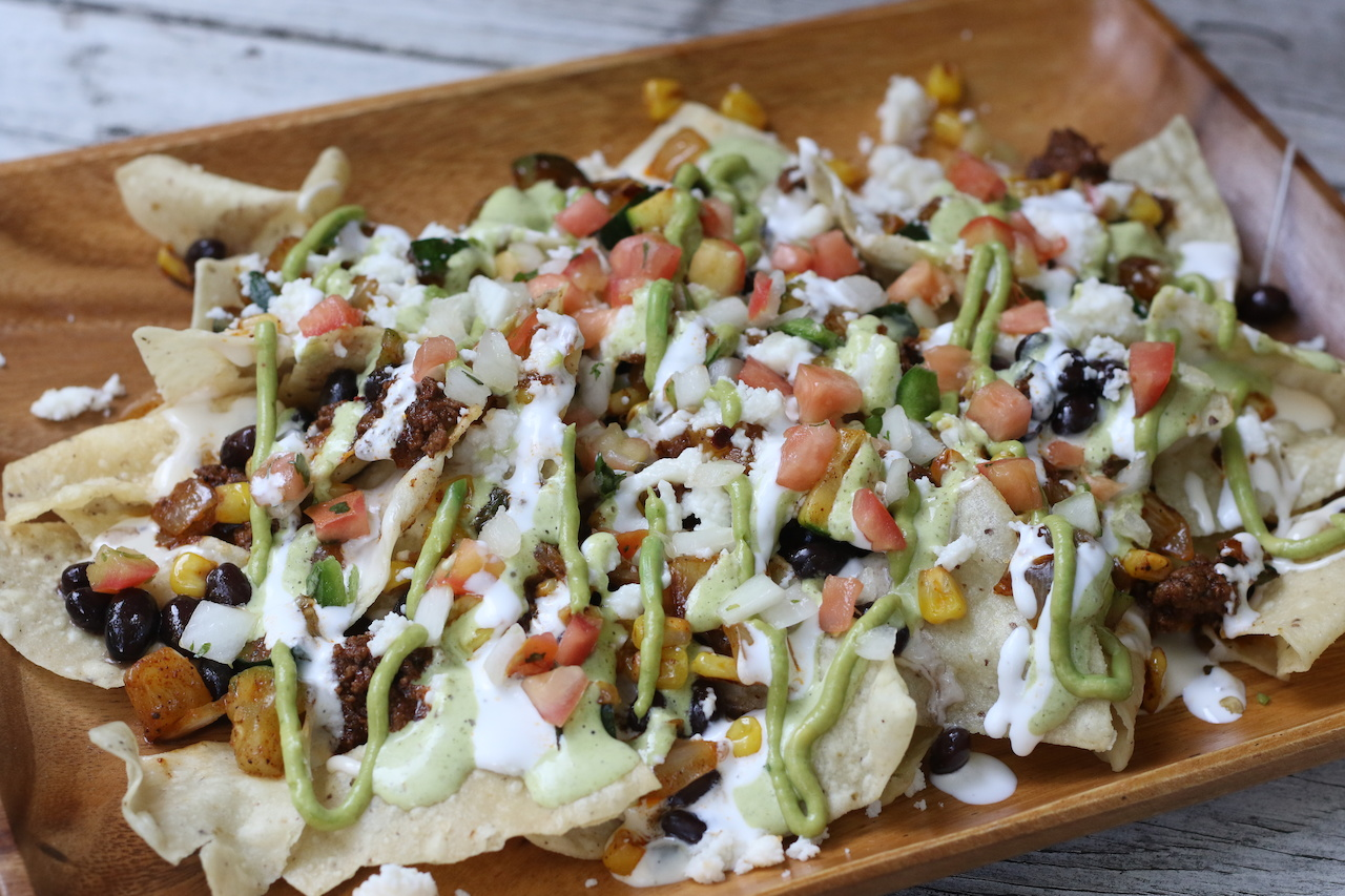 Feed a crowd with a NACHO BAR