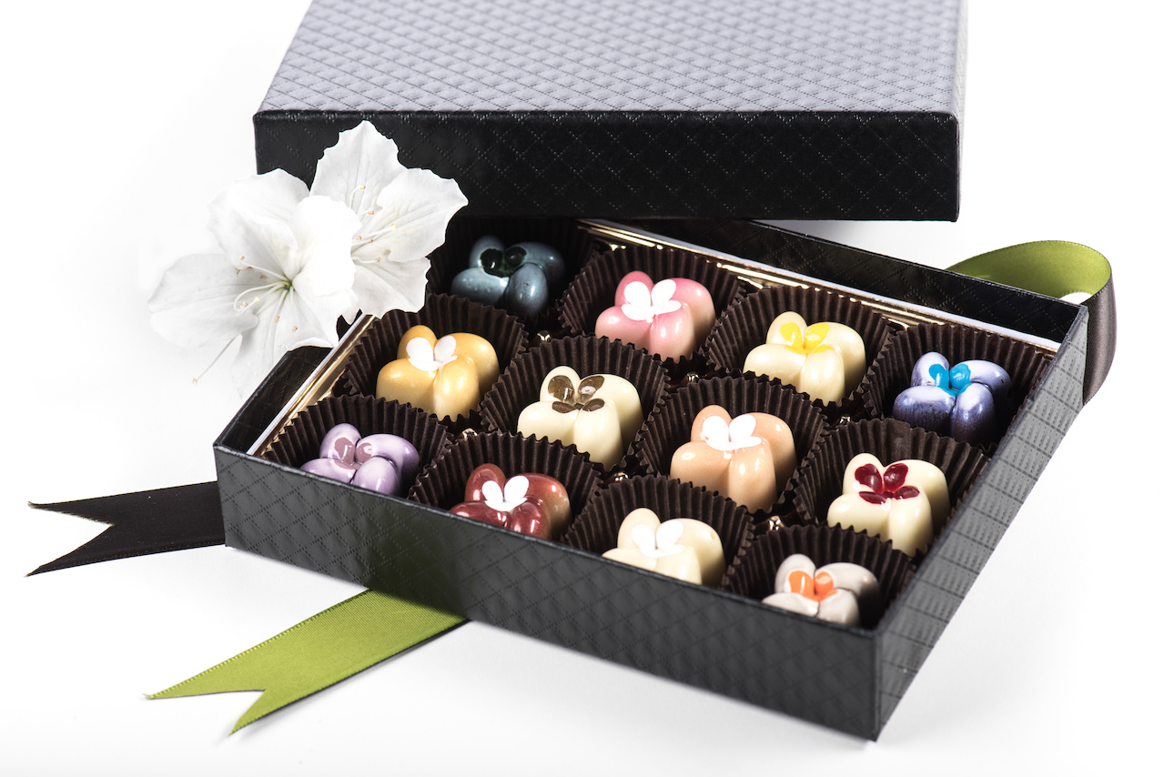 The 'I Love You, Mom' collection from Phillip Ashley Chocolates, $45. |Image: Donny Granger