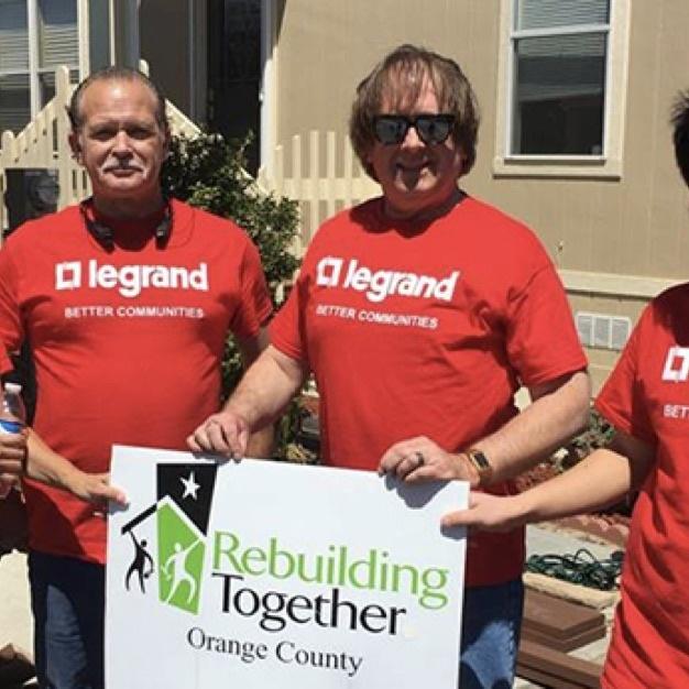 Legrand Rebuilding Together