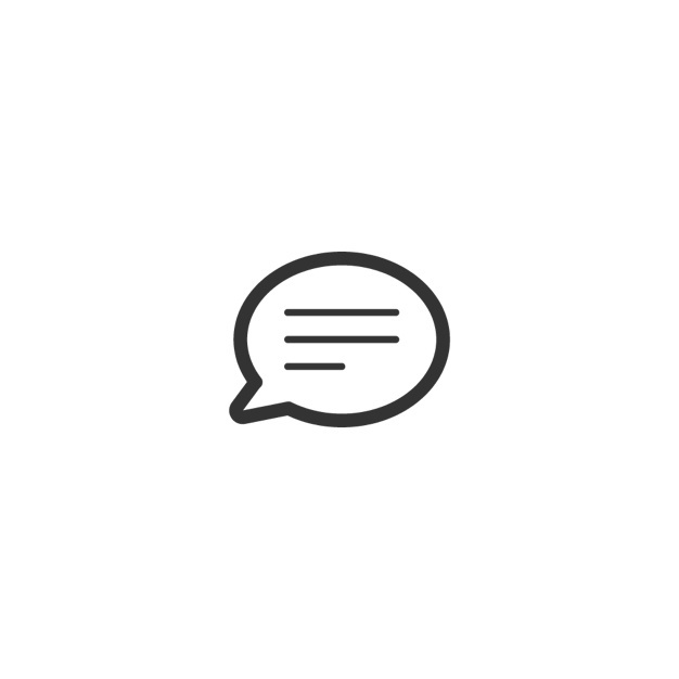 message button icon