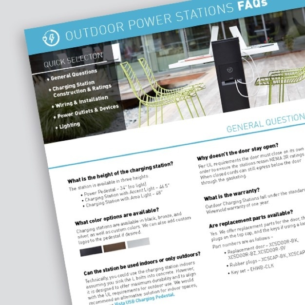 Outdoor power stations FAQs sheet