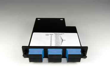 Momentum 2 Cassette, single-mode fiber, 1U, 12 fibers, SC duplex connectors, OR-M2SCD12-09