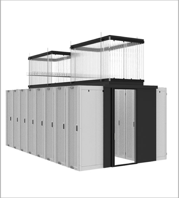 Data Center containment in white