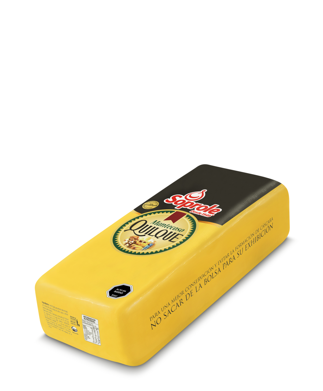 Soprole queso quilque mantecoso barra 4kg
