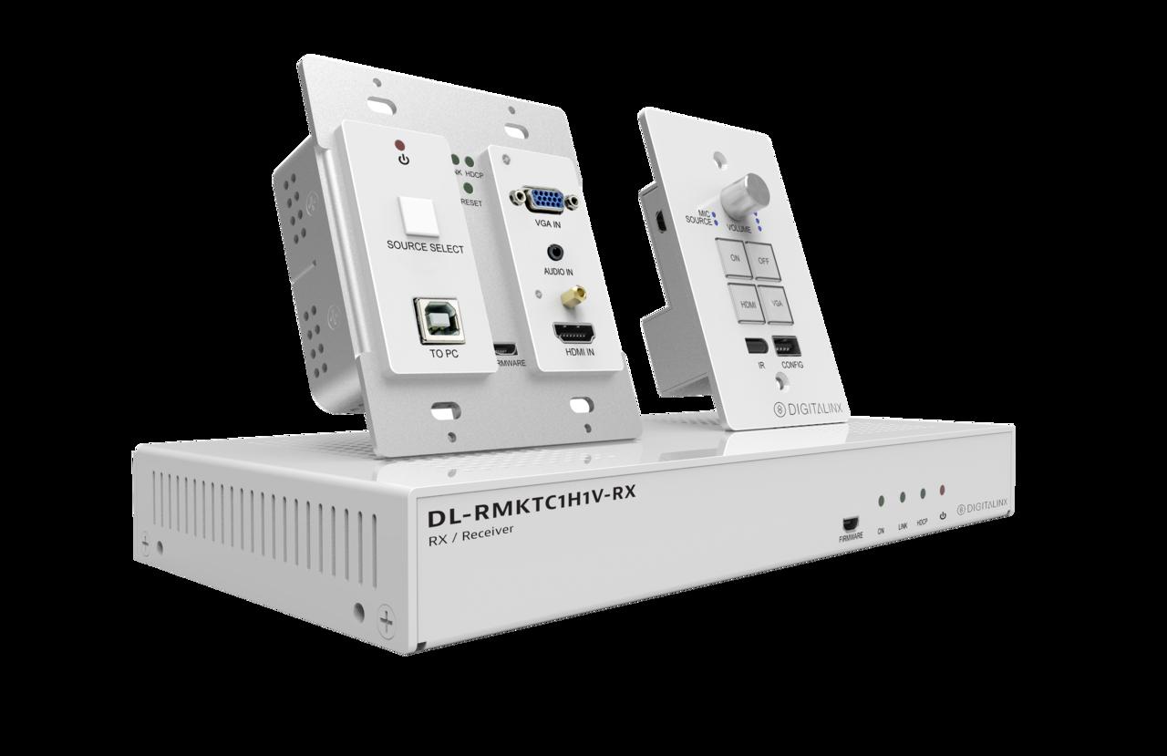 Dl Rmktc1h1v W Hdmi Vga And Usb 20 Extender Keypad Control Hubbell Wiring Diagram System