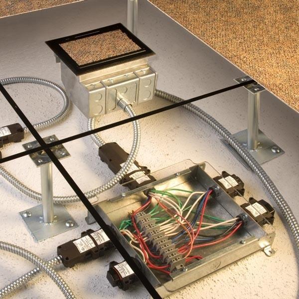 Multi Service Round Recessed Floor Box Crfb Legrand