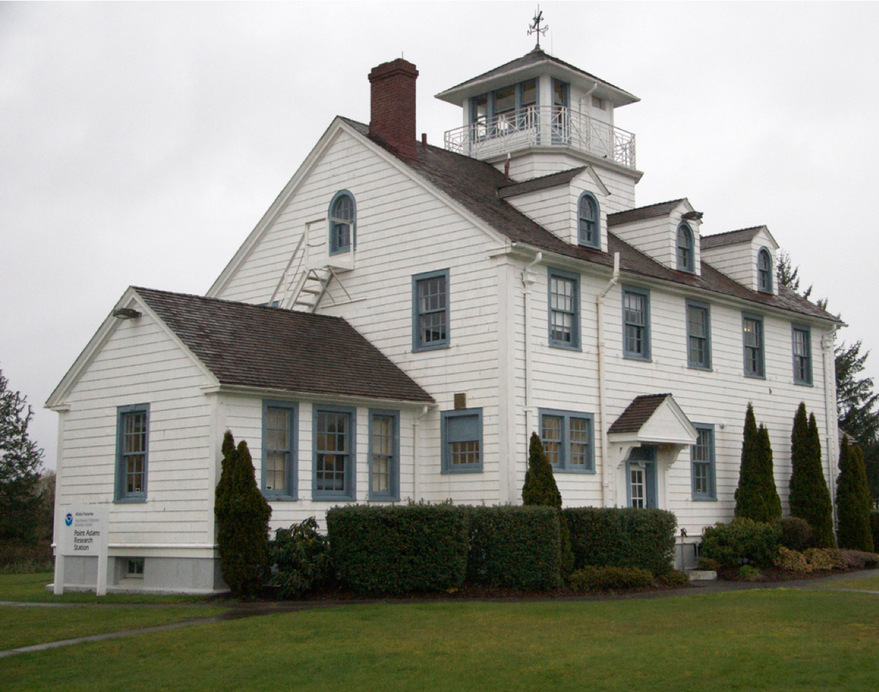 Point Adams Research Station facility