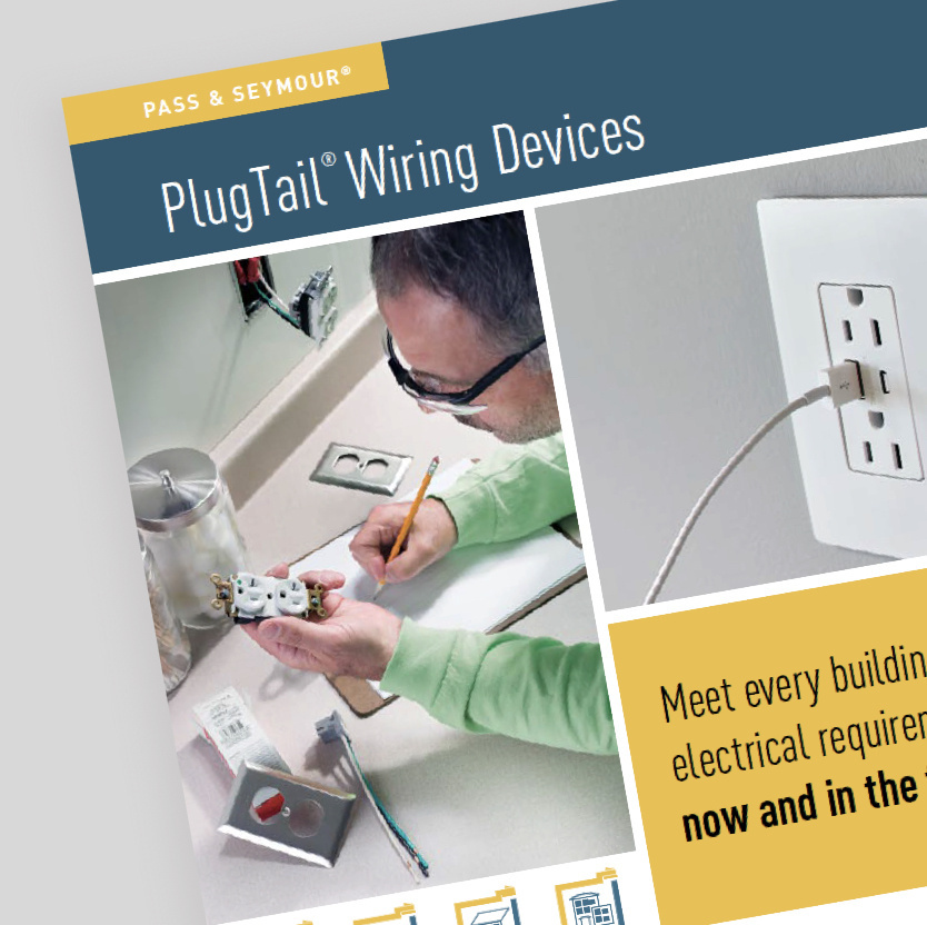 plugtail wiring devices brochure cover
