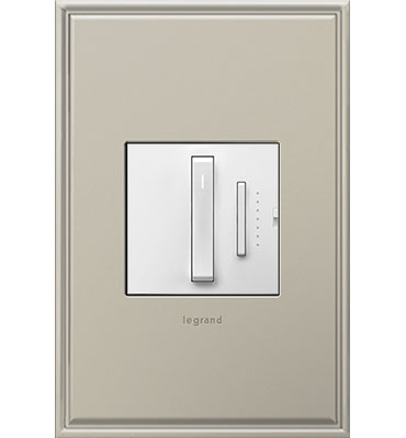 adorne White Wireless Whisper Dimmer
