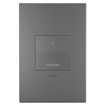 Nightlight Magnesium Wall Plate