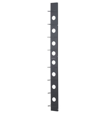 "Vertical Organizer,  6"" Channel,  Feed-Through Holes,  79"" H, OR-VO-84-T6FTE"