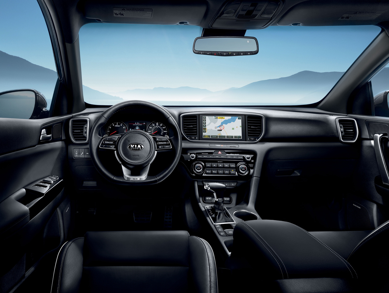 Kia Sportage interior at HW Kia