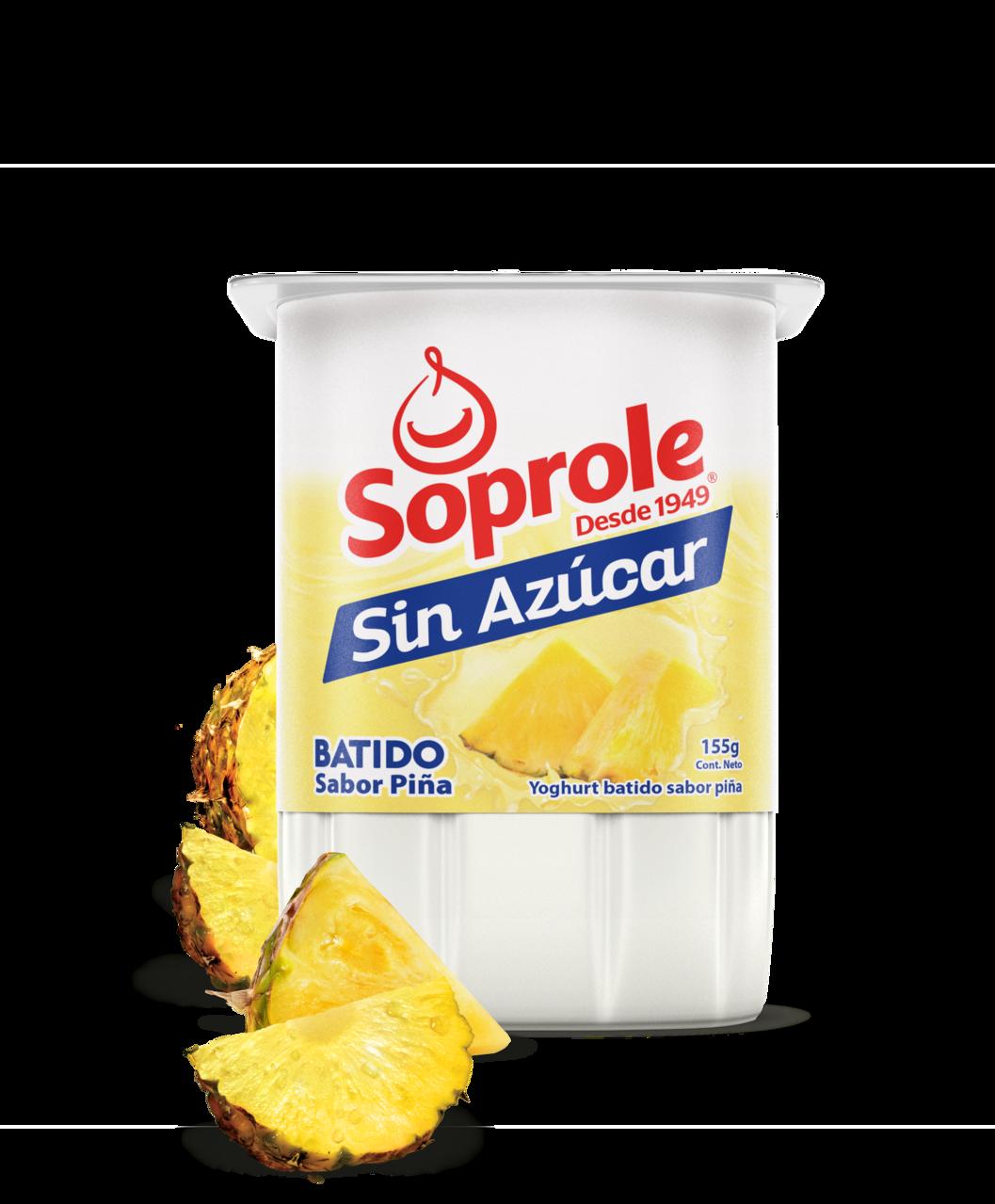 Soprole Yoghurt Batido Light sabor piña 165